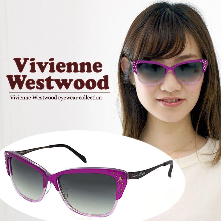 ヴィヴィアン ウエストウッド サングラス Vivienne Westwood vw7750-pp UVカット 紫外線対策 レディース 女性用