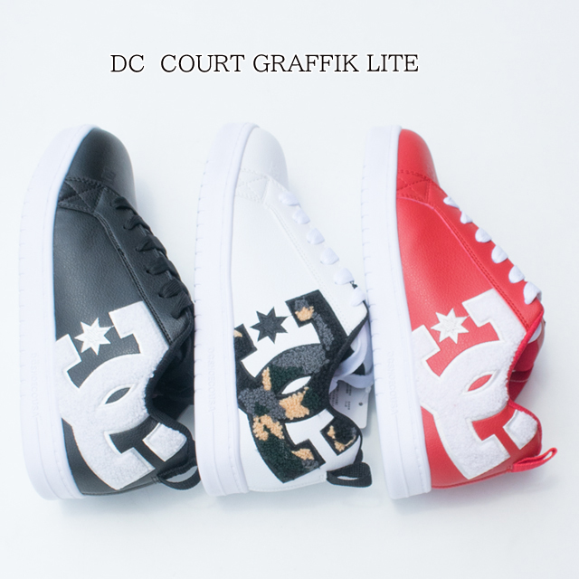 DC SHOES COURT GRAFFIK LITE メンズ スニーカー DM194602【あす楽対応】【あす楽_土曜営業】【コートグラフィック/靴/スニーカー/スケーター/シューズ】【dc shoes ディーシー シュー】