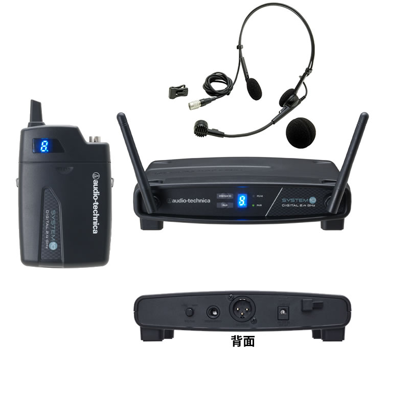 AUDIO-TECHNICA ATW-1101/H ワイヤレス ヘッドセットマイク システム