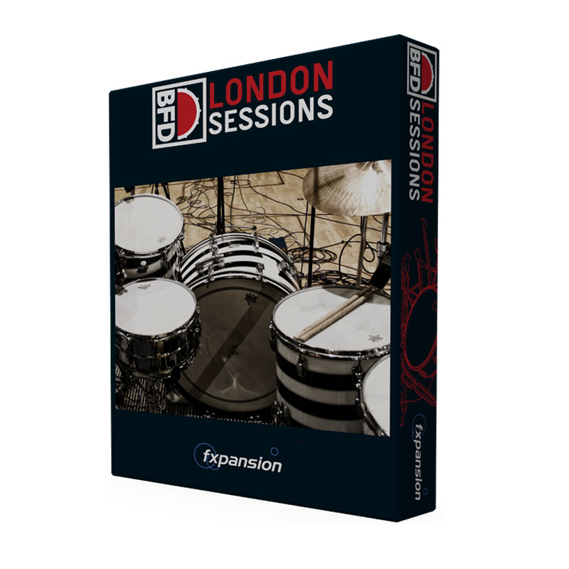 FXPANSION LONDON SESSIONS BFD EXPANSION PACK ダウンロード版 安心の日本正規品!拡張音源