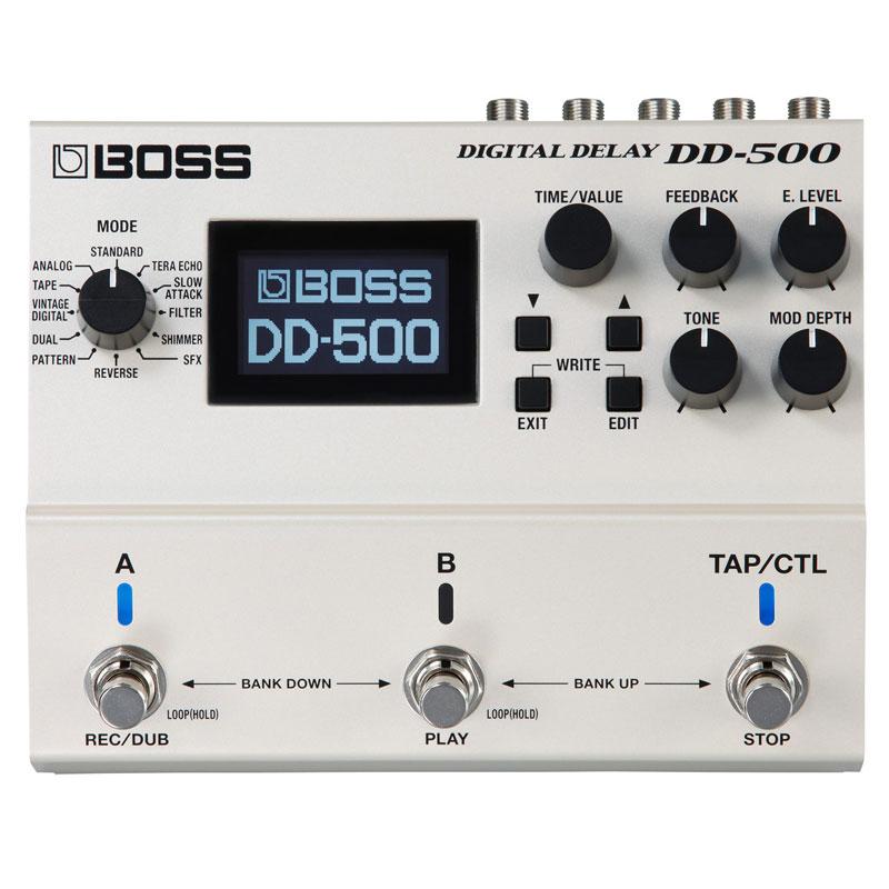 BOSS DD-500 割り引き MIDI対応マルチペダルディレイ メーカー直売