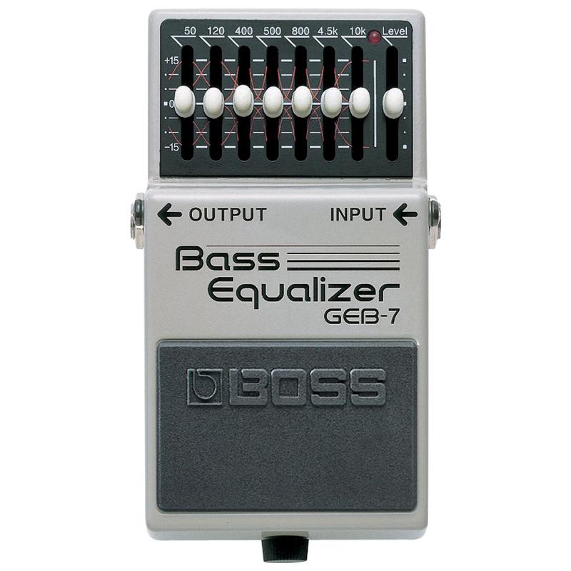 BOSS GEB-7 BASS EQUALIZER ベースイコライザー