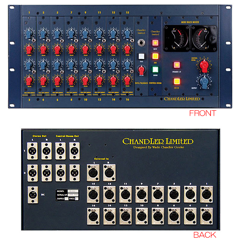 CHANDLER LIMITED TG RACK MIXER