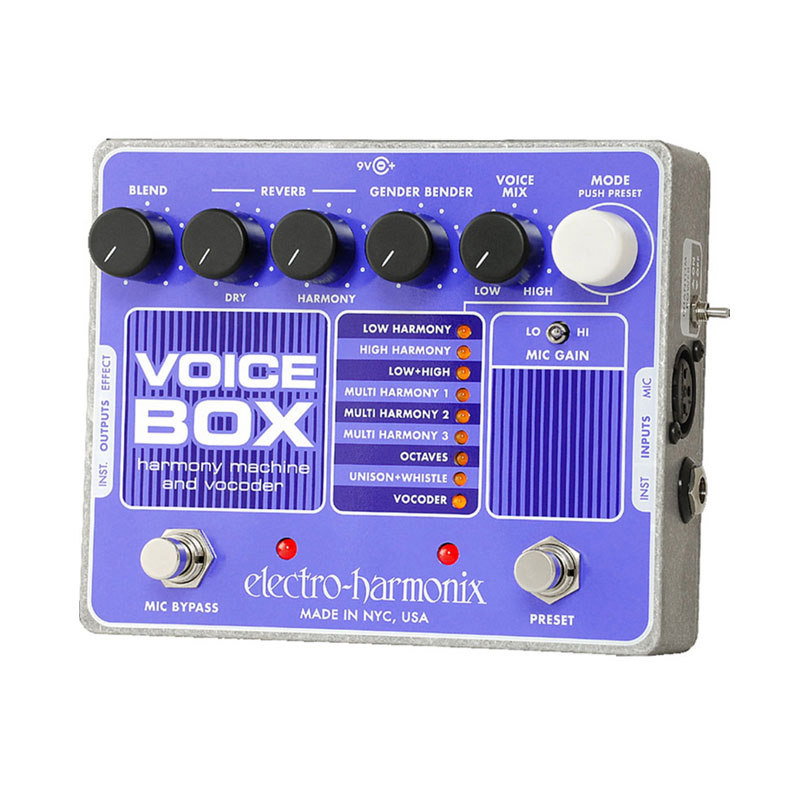 ELECTRO HARMONIX VOICE BOX 安心の日本正規品!ボーカルハーモニーエフェクター