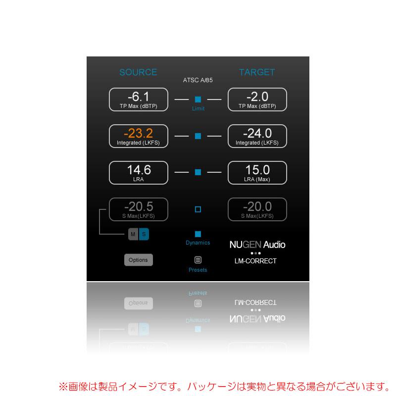 NUGEN AUDIO LM-CORRECT 2 パッケージ版 安心の日本正規品!