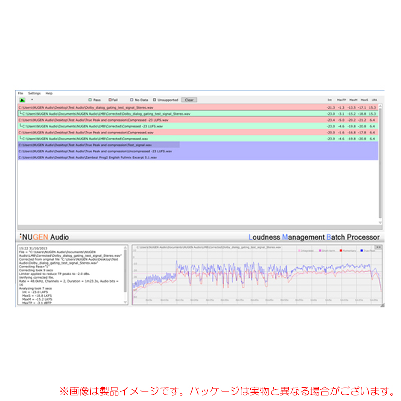NuGen Audio LMB パッケージ版 安心の日本正規品!ラウドネス一括編集ツール