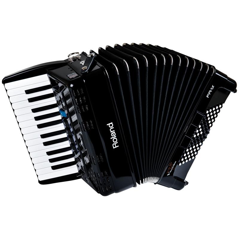 ROLAND FR-1X BLACK ローランド 電子アコーディオン 鍵盤式