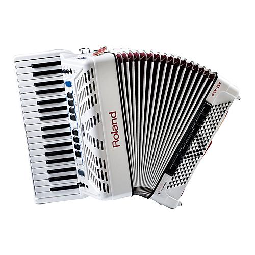 ROLAND FR-3X WHITE ローランド 電子アコーディオン 鍵盤式
