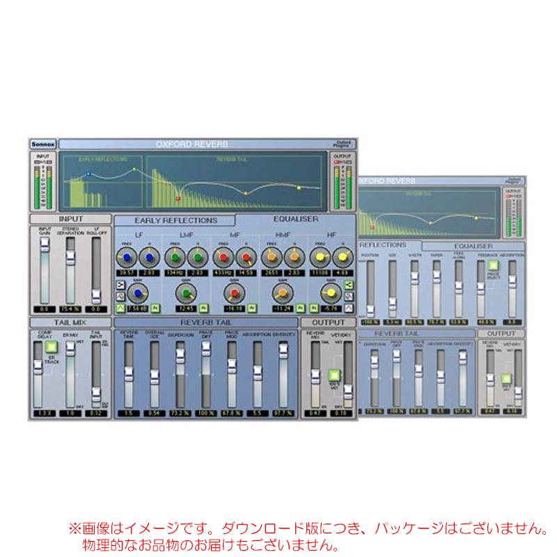 SONNOX OXFORD REVERB Native 安心の日本正規品!リバーブ