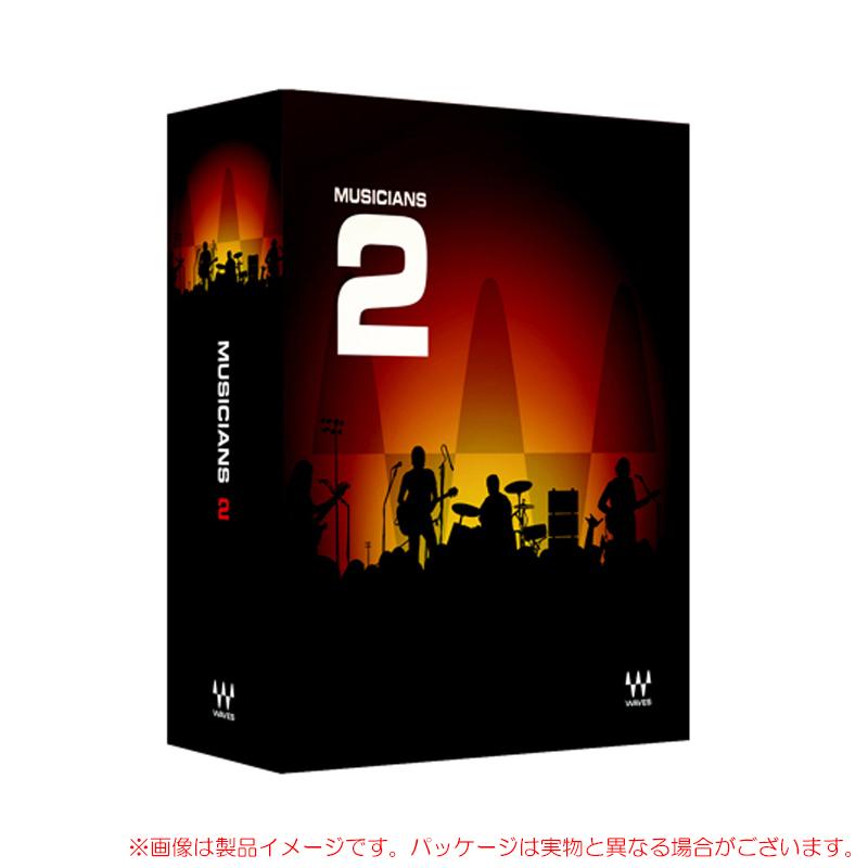 WAVES MUSICIANS 2 安心の日本正規品!