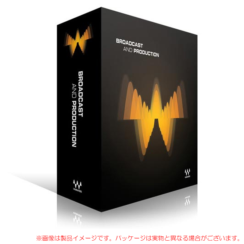 WAVES BROADCAST & PRODUCTION 安心の日本正規品!