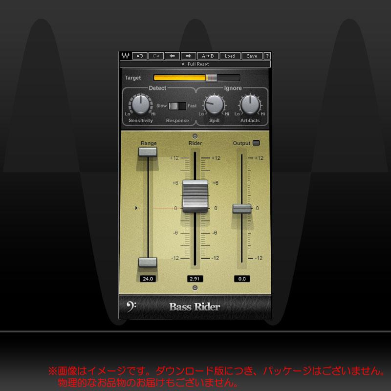 WAVES BASS RIDER ダウンロード版 安心の日本正規品!