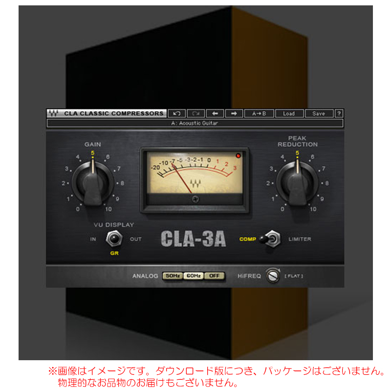 WAVES CLA-3A Compressor Limiter ダウンロード版 安心の日本正規品!