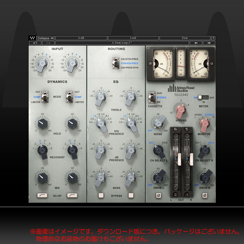 WAVES EMI TG12345 Channel Strip ダウンロード版 安心の日本正規品!