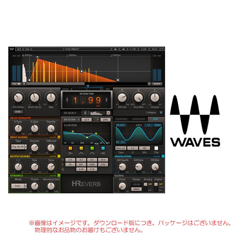 WAVES H-REVERB ダウンロード版 安心の日本正規品!