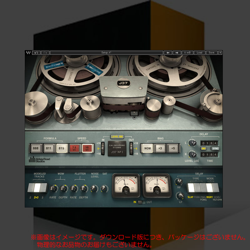 WAVES J37 Tape ダウンロード版 安心の日本正規品!
