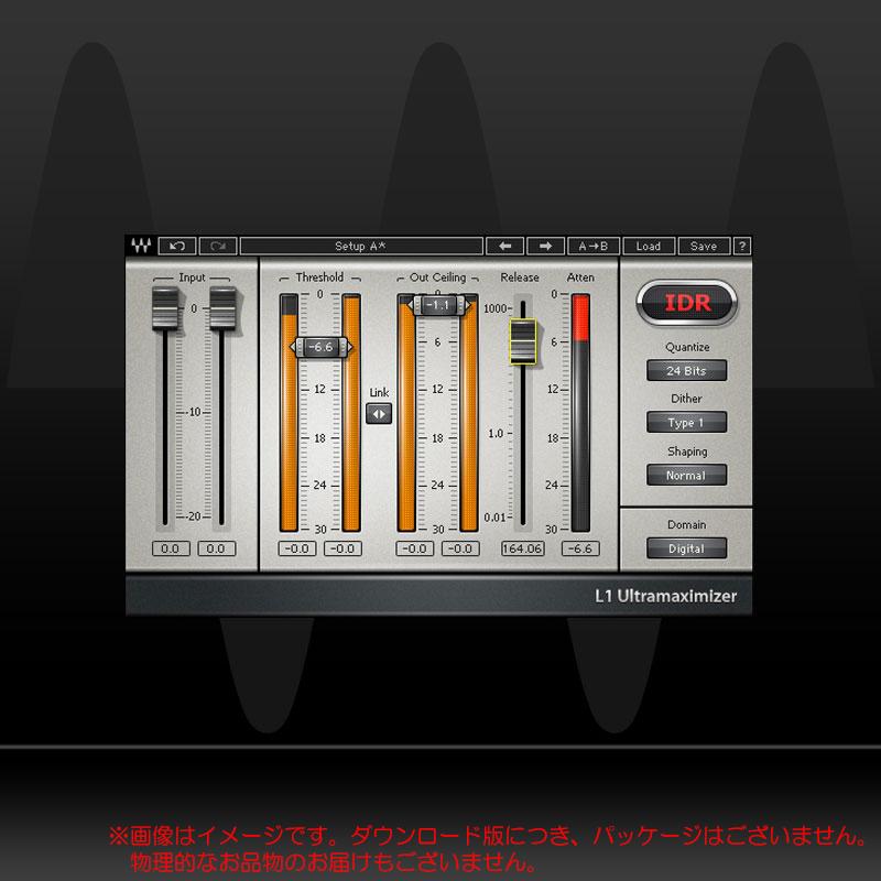 WAVES L1 ULTRAMAXIMIZER ダウンロード版 安心の日本正規品!