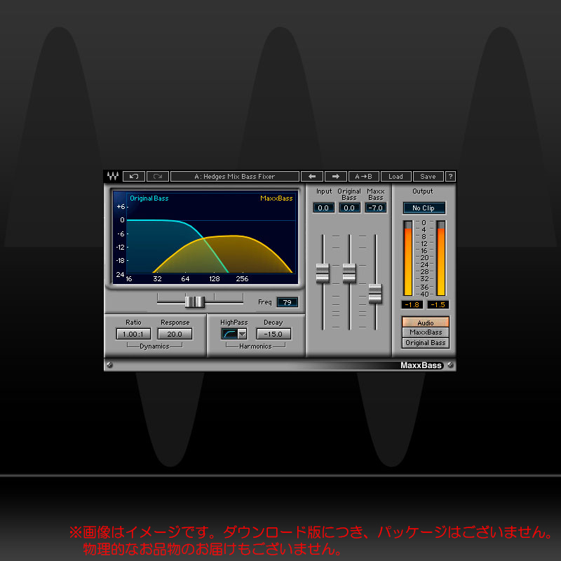 WAVES MaxxBass ダウンロード版 WAVES 安心の日本正規品 MaxxBass!, 水泳SHOP プレイスマート:07dc0dc4 --- itxassou.fr