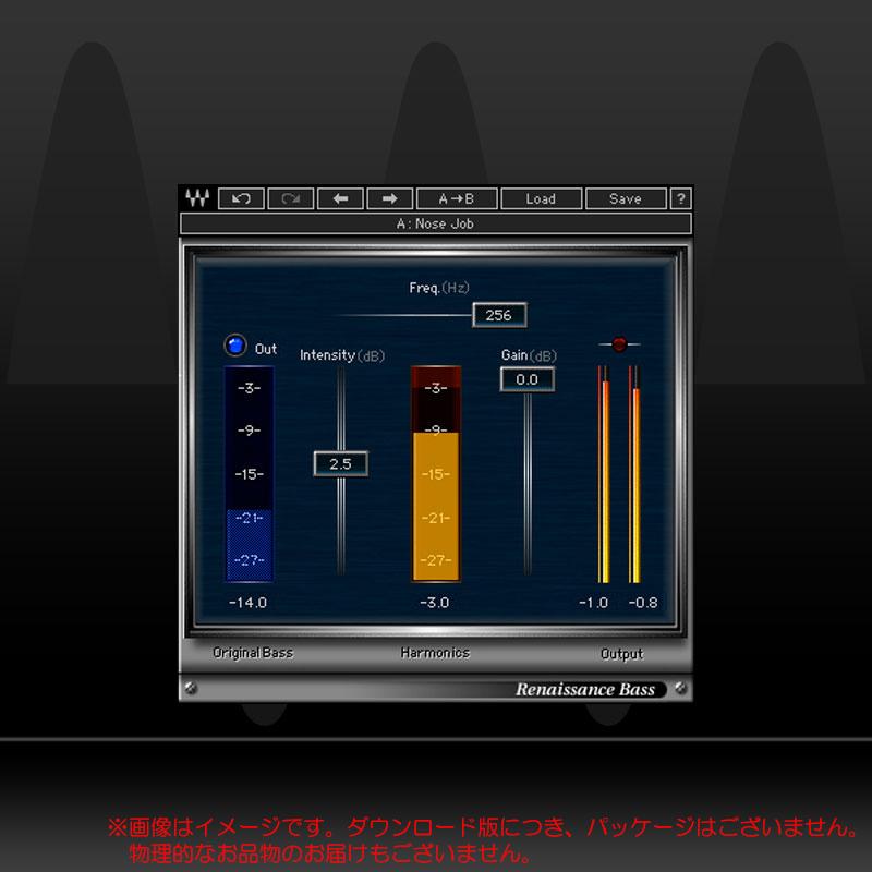 WAVES RENAISSANCE BASS ダウンロード版 安心の日本正規品!