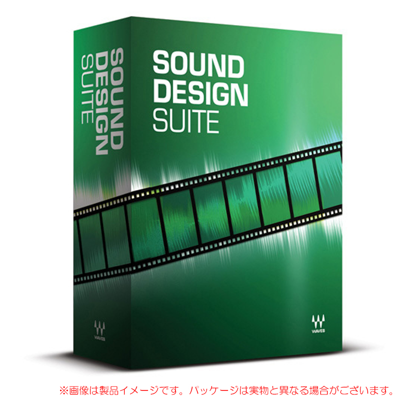 WAVES SOUND DESIGN SUITE 安心の日本正規品!