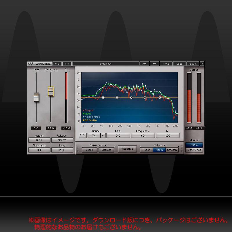 WAVES Z-NOISE ダウンロード版 安心の日本正規品!