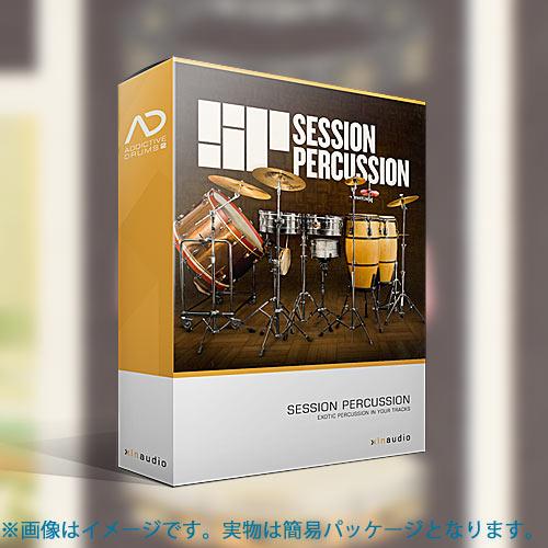 XLNAUDIO 拡張パック SESSION PERCUSSION ADpak ダウンロード版 ADDICTIVE DRUMS 2