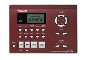 TASCAM CD-GT2 純正ACアダプタ付き!ギタートレーナー