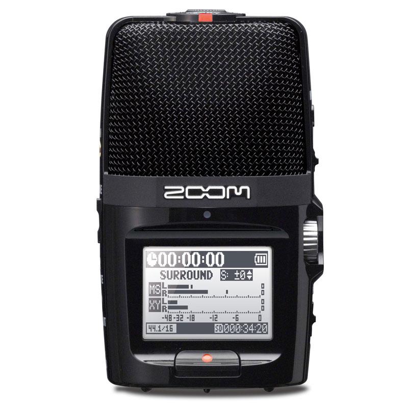 ZOOM H2n 8GB microSDHCカードプレゼント!安心の日本正規品!