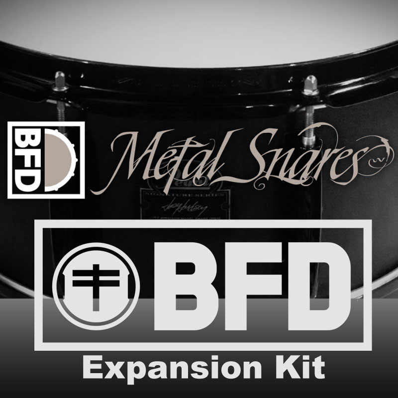 FXPANSION METAL SNARES BFD3 EXPANSION PACK ダウンロード版 BFD拡張音源