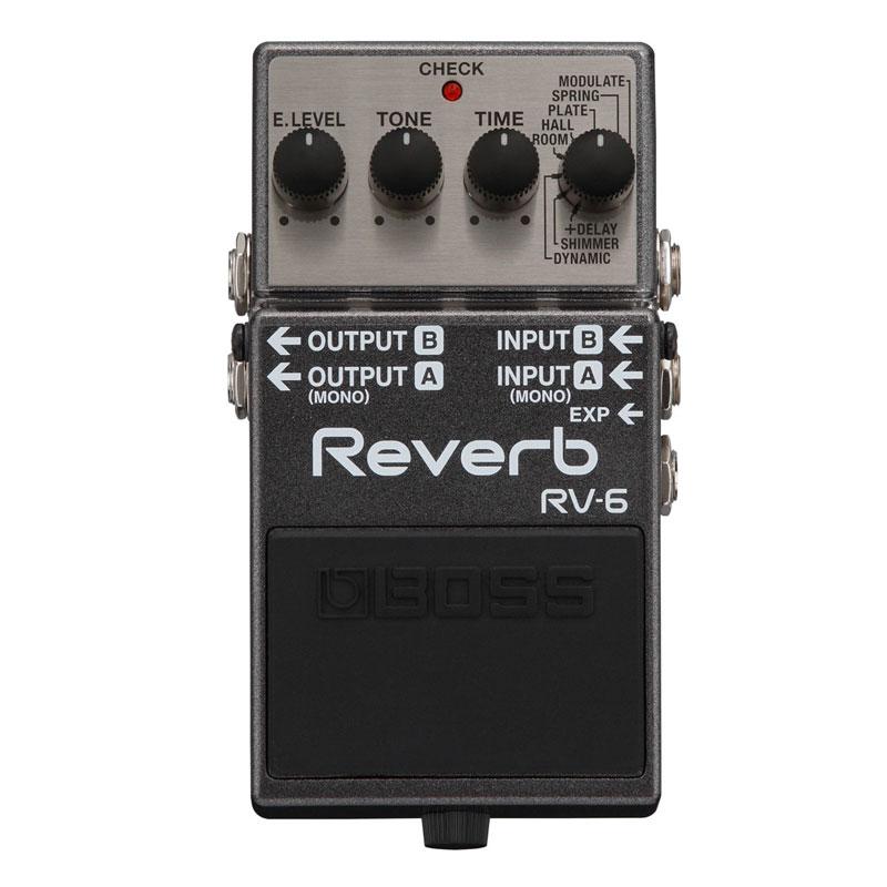 BOSS RV-6 デジタルリバーブ