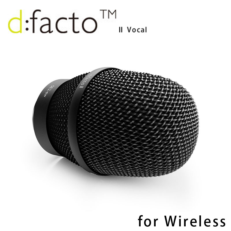 DPA d:fact II VOCAL FA4018VSE2-ewB ワイヤレスアダプターセット 安心の日本正規品!