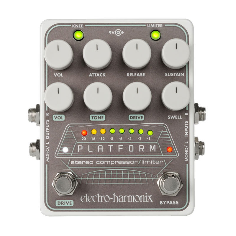 ELECTRO HARMONIX PLATFORM 安心の日本正規品!コンプレッサー/リミッター