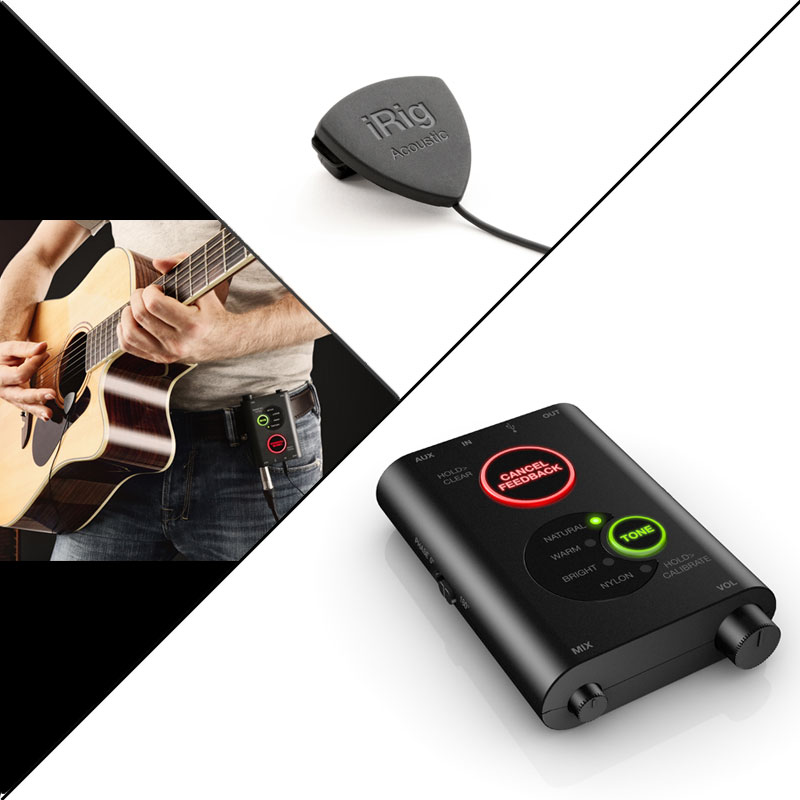 IK MULTIMEDIA iRIG ACOUSTIC STAGE 安心の日本正規品!