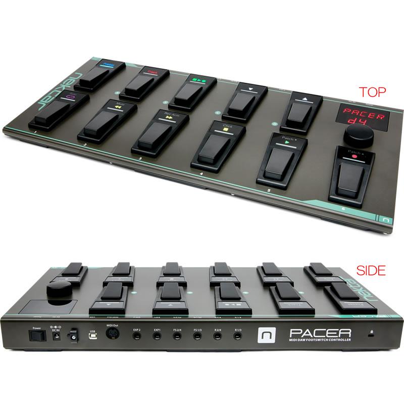 NEKTAR TECHNOLOGY PACER DAW対応 MIDIフットコントローラー
