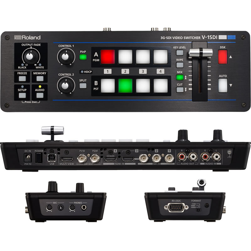 ROLAND V-1SDI コンパクト 3G-SDIビデオスイッチャー