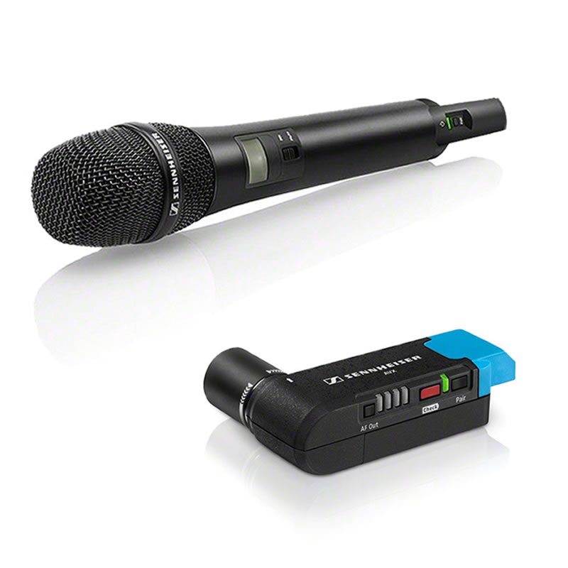 SENNHEISER AVX 835-S SET ビデオカメラ用 ワイヤレスマイクセット【ハンドマイクタイプ】