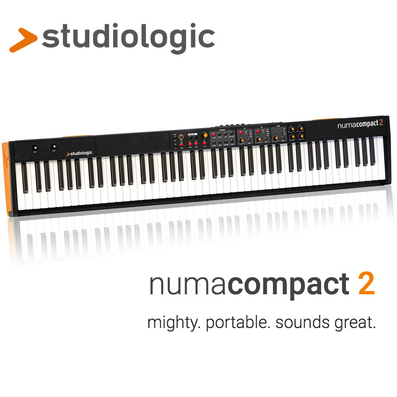 STUDIOLOGIC NUMA COMPACT 2 安心の日本正規品!大人気おすすめ電子ピアノ!