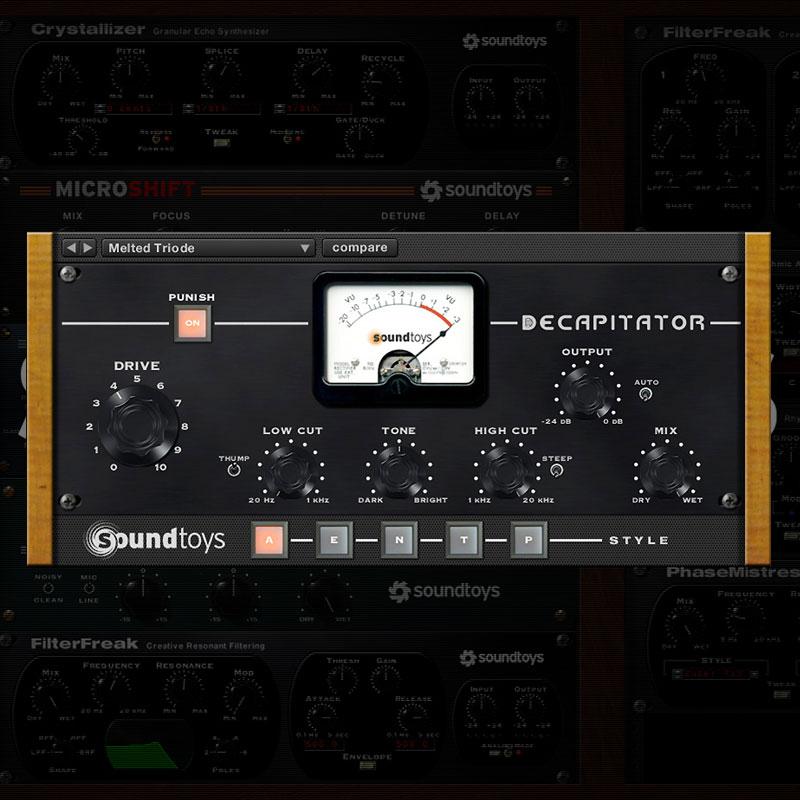 SOUNDTOYS DECAPITATOR ダウンロード版 安心の日本正規品!