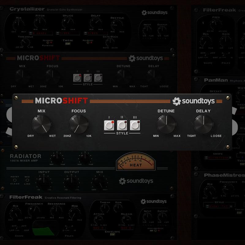 SOUNDTOYS MICROSHIFT 5 ダウンロード版 安心の日本正規品!