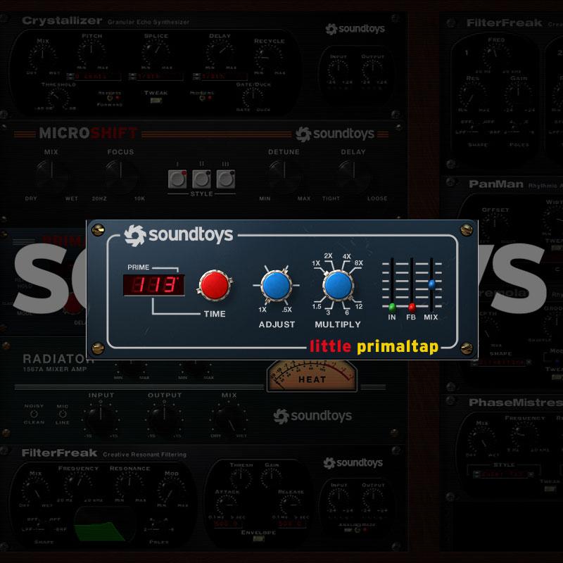 SOUNDTOYS PRIMALTAP 5 ダウンロード版 安心の日本正規品!