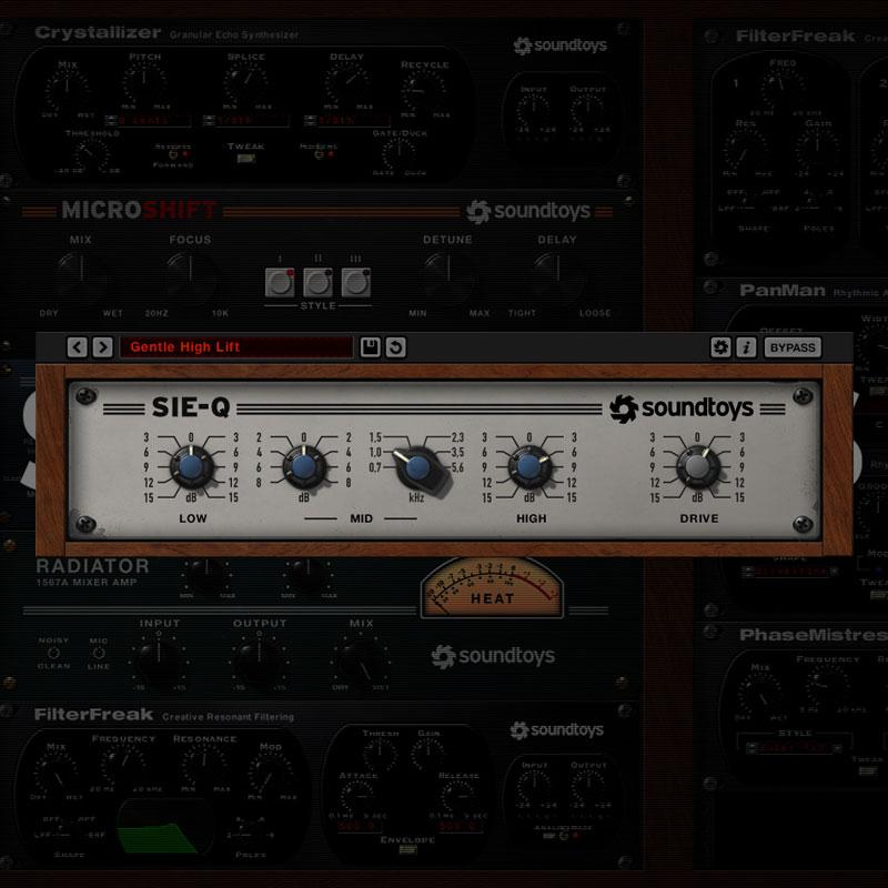 SOUNDTOYS SIE-Q 5 ダウンロード版 安心の日本正規品!
