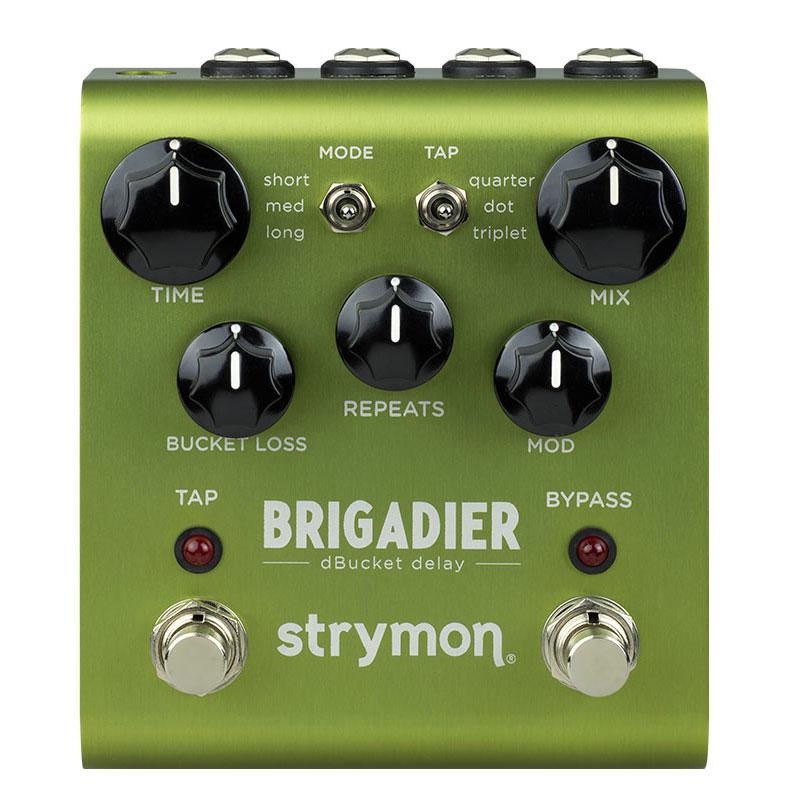 STRYMON BRIGADIER 男女兼用 次世代デジタルディレイ 安心の日本正規品 全国どこでも送料無料