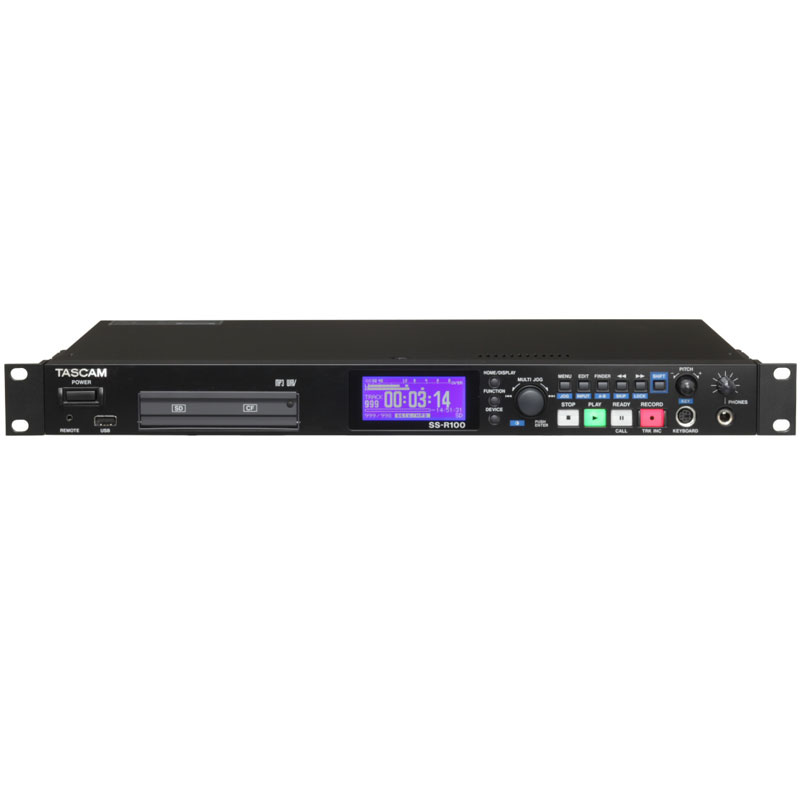 TASCAM SS-R100 業務用CF/SD/SDHC/USBレコーダー