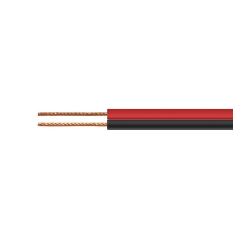 トモカ電気 VFF平行 ついに入荷 スピーカーコード 0.75SQ 18AWG相当 新発売 店舗BGMスピーカーケーブル 20m