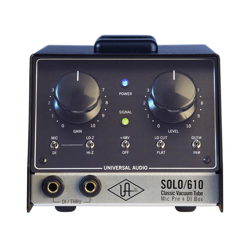UNIVERSAL AUDIO SOLO/610 安心の日本正規品!代引き手数料無料!Classic Tube Preamplifier & DI Box