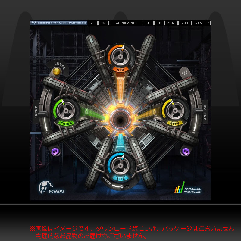 WAVES SCHEPS PARALLEL PARTICLES ダウンロード版 安心の日本正規品!