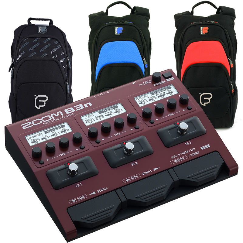 ZOOM B3n FUSION SMALL BACKPACK セット