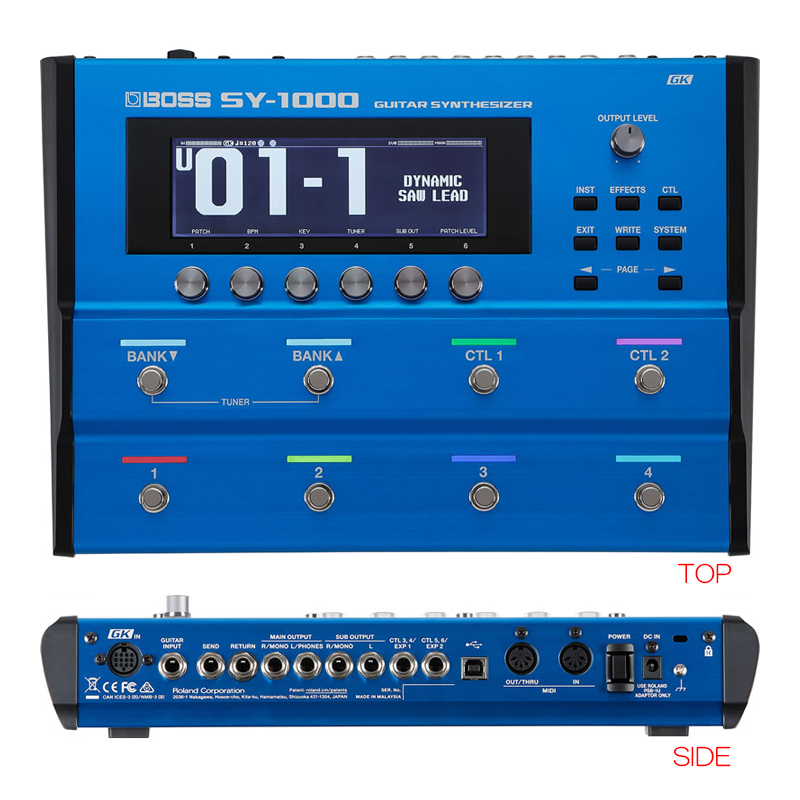 BOSS SY-1000 GUITAR SYNTHESIZER ボス
