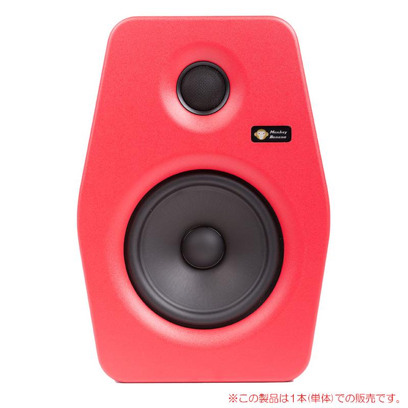 MONKEY BANANA TURBO 6 RED 1本単品 6インチ・アクティブ・スタジオモニター