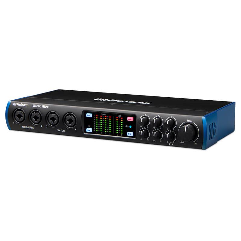 PRESONUS STUDIO 通信販売 1810C 18ch入力8ch出力 付与 USB-C + DSP